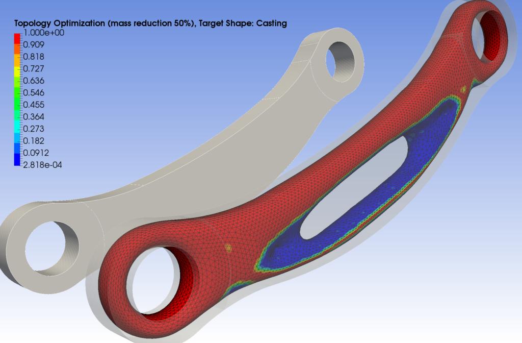 Topology optimization using FEM
