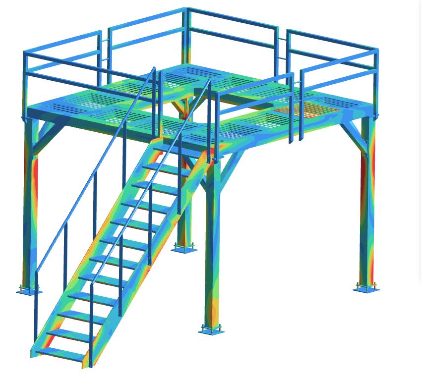 Terasrakenteen-lujuuslaskenta-tekninen-laskenta-FEM-SolidComp